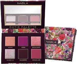 Fragrances, Perfumes, Cosmetics Eyeshadow Palette - Nabla Cutie Collection Palette Wild Berry