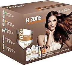 Fragrances, Perfumes, Cosmetics Repair Hair Set - H.Zone (shm/500/ml + lot/500/ml + spray/250/ml + serum/150/ml + towel)