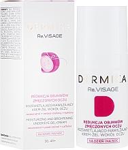 Fragrances, Perfumes, Cosmetics Moisturizing Eye Gel Cream 30-40+ - Dermika Re.Visage