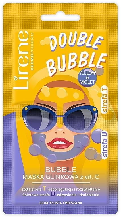 Vitamin C Clay Bubble Mask - Lirene Double Bubble Mask