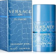 Fragrances, Perfumes, Cosmetics Versace Man Eau Fraiche - Deodorant-Stick