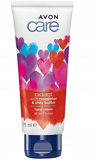 Radiant Rosewater & Shea Butter Hand Cream - Avon Care