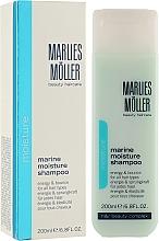 Fragrances, Perfumes, Cosmetics Moisturizing Shampoo - Marlies Moller Marine Moisture Shampoo