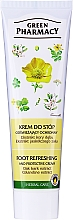 "Fragrances, Perfumes, Cosmetics Refreshing Foot Cream ""Oak and Calendine"" - Green Pharmacy"