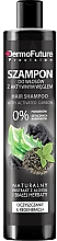 Fragrances, Perfumes, Cosmetics Active Carbon Hair Shampoo - DermoFuture Hair Shampoo With Activated Carbon