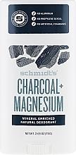 Fragrances, Perfumes, Cosmetics Natural Deodorant - Schmidt's Deodorant Charcoal + Magnesium Stick
