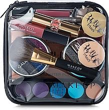"Fragrances, Perfumes, Cosmetics Clear Makeup Bag ""Visible Bag"" 17x17x6 cm - MakeUp"
