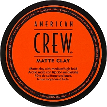 Fragrances, Perfumes, Cosmetics Matte Clay - American Crew Matte Clay