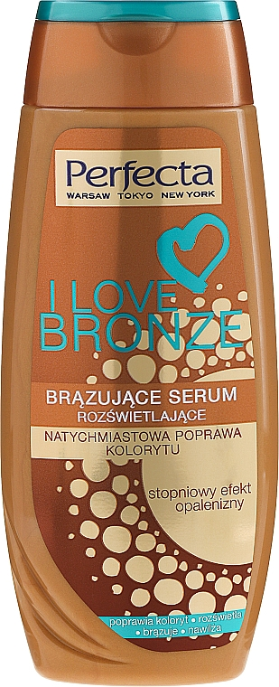 Bronzing Body Serum - Perfecta I Love Bronze Serum