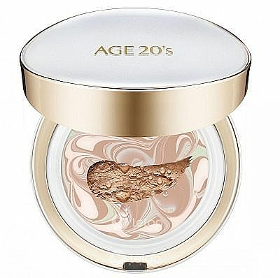 Face Cream-Powder with Refill - AGE 20's Signature Pact Long Stay SPF50+/PA+++