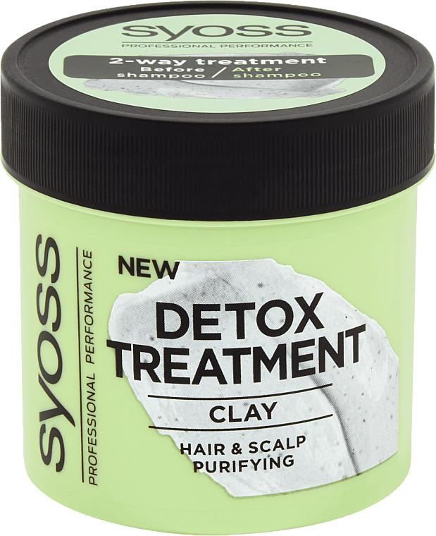 Detox Clay Hair Mask - Syoss Detox Treatment Clay