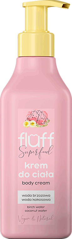 Banana and Watermelon Body Cream - Fluff Superfood Body Cream