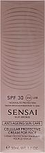 Fragrances, Perfumes, Cosmetics Facial Sun Cream SPF30 - Kanebo Sensai Cellular Protective Cream For Face