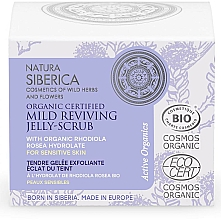 Fragrances, Perfumes, Cosmetics Repairing Mild Jelly-Scrub - Natura Siberica Organic Certified Mild Reviving Jelly-Scrub