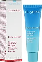Fragrances, Perfumes, Cosmetics Eye Mask - Clarins Hydra-Essentiel Moisturizing Reviving Eye Mask