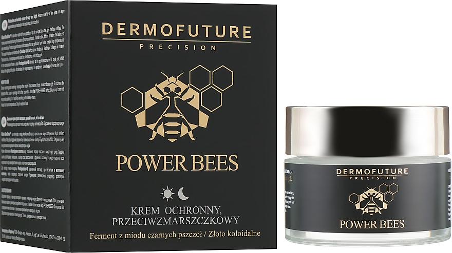 Protective Anti-Wrinkle Face Cream - Dermofuture Power Bees Protective Anti-wrinkle Cream