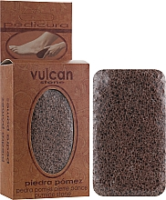Fragrances, Perfumes, Cosmetics Pumice, 98x58x37mm, terracotta brown - Vulcan Pumice Stone