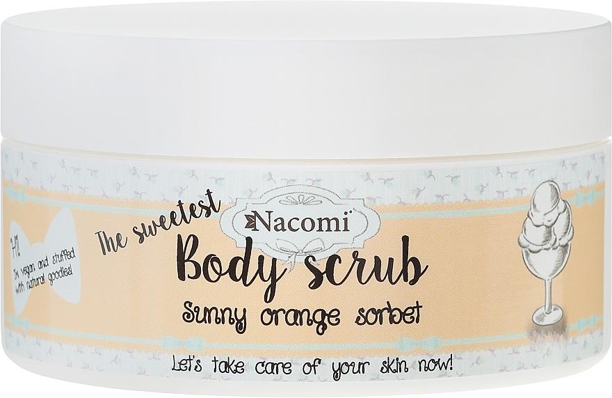 """Body Scrub """"Orange Sorbet"""" - Nacomi Sunny Orange Sorbet Body Scrub"""