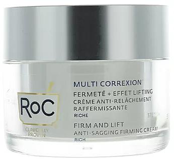 Face Cream - Roc Multi Correxion Anti-Sagging Firming Cream — photo N2