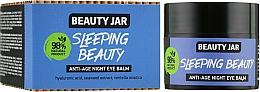 "Fragrances, Perfumes, Cosmetics Anti-Aging Night Eye Balm ""Sleeping Beauty"" - Beauty Jar Anti-Age Night Eye Balm"