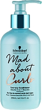 Fragrances, Perfumes, Cosmetics Conditioner for Fine and Normal Hair - Schwarzkopf Professional Mad About Curls Two-way Conditioner