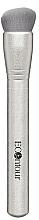 Fragrances, Perfumes, Cosmetics Contour Brush - Econtour Countouring Brush Premium Silver 03