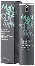 Fragrances, Perfumes, Cosmetics Effective Eye Contour Serum - Dr. Spiller Manage Your Skin Effective Eye Contour Serum