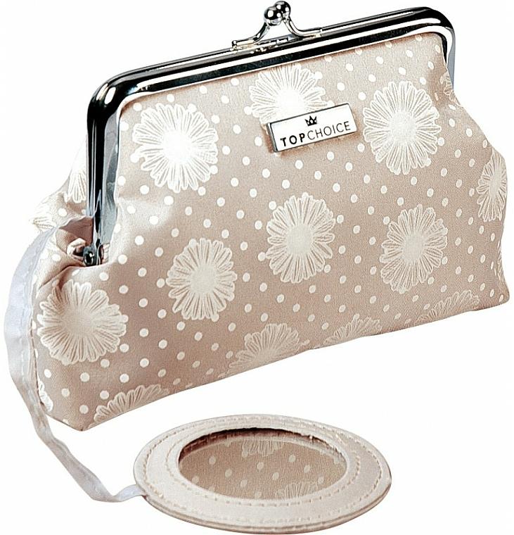 "Makeup Bag ""C&D"", 97959, beige - Top Choice — photo N1"