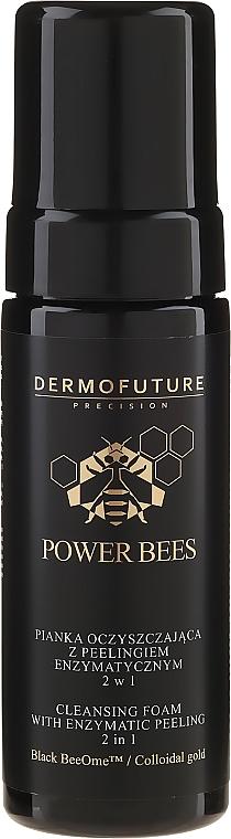 Enzyme Peel Cleansing Foam 2 in 1 - Dermofuture Power Bees Cleansing Foam 2in1
