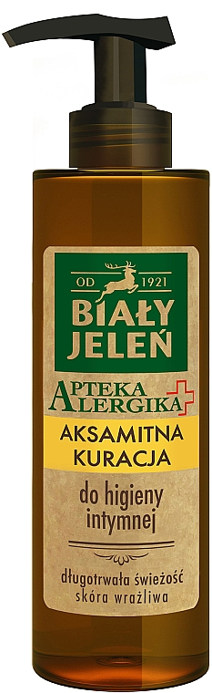 Velvet Intimate Hygiene Wash - Bialy Jelen Apteka Alergika