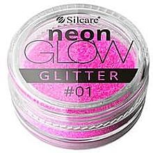 Fragrances, Perfumes, Cosmetics Nail Glitter - Silcare Brokat Neon Glow