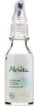 Fragrances, Perfumes, Cosmetics Organic Hair Coconut Oil - Melvita Coconut Oil