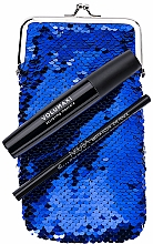 Fragrances, Perfumes, Cosmetics Set - NoUBA Eye'M Volumaxi Sculpting Mascara (mascara/18ml + eye/pen/1.1g + bag)