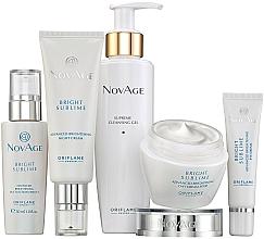 Fragrances, Perfumes, Cosmetics Set - Oriflame NovAge Bright Sublime (gel/200ml+eye/cr/15ml+ser/30ml+d/cr/50ml+n/cr/50ml)