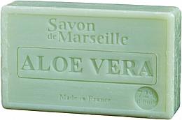 "Fragrances, Perfumes, Cosmetics Natural Soap ""Aloe Vera"" - Le Chatelard 1802 Soap Almond & Cranberry"