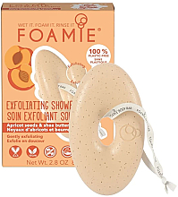 Fragrances, Perfumes, Cosmetics Exfoliating Apricot Seeds & Shea Butter Body Soap - Foamie Exfoliating Body Bar With Apricot Seeds & Shea Butter