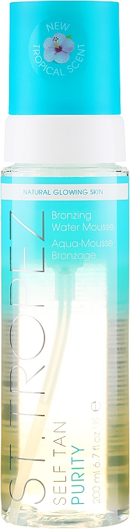 Self-Tanning Oil-Free Mousse - St. Tropez Self Tan Purity Bronzing Water Mousse