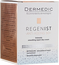Fragrances, Perfumes, Cosmetics Repair Day Cream 50+ - Dermedic Regenist ARS 5 Retinolike Day Intensely Smoothing Repair Cream