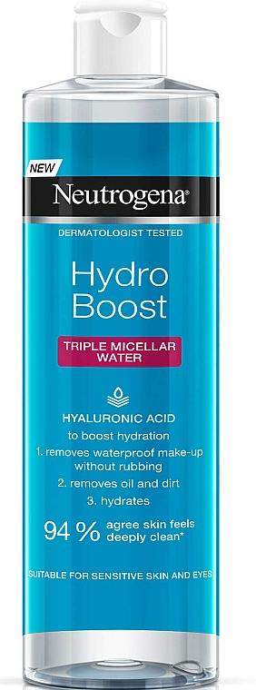 Micellar Water - Neutrogena Hydro Boost Triple Micellar Water