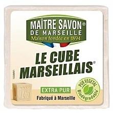 Fragrances, Perfumes, Cosmetics Soap - Maitre Savon De Marseille Le Cube Marseillais Extra Pur Soap Bar