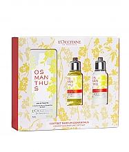 Fragrances, Perfumes, Cosmetics Loccitane Osmanthus - Set (edt/75ml+sh/gel/75ml+b/milk/75ml)