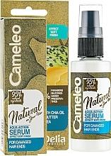 Fragrances, Perfumes, Cosmetics Hair Serum - Delia Cameleo Natural On Your Hair Aqua Action Serum
