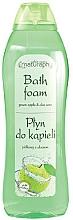 "Fragrances, Perfumes, Cosmetics Bubble Bath ""Green Apple and Aloe"" - Bluxcosmetics Naturaphy Apple & & Aloe Vera Bath Foam"