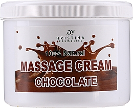Fragrances, Perfumes, Cosmetics Massage Chocolate Face & Body Cream - Hristina Cosmetics Chocolate Massage Cream