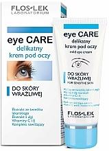 Fragrances, Perfumes, Cosmetics Eye Cream for Sensitive Skin - Floslek Eye Care Mild Eye Cream For Sensitive Skin