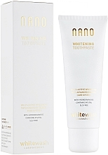 "Fragrances, Perfumes, Cosmetics Toothpaste ""Whitening+Remineralization with Hydroxyapatite"" - WhiteWash Laboratories Nano Whitening Toothpaste"