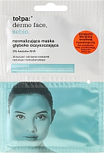 Fragrances, Perfumes, Cosmetics Deep Cleansing Mask - Tolpa Dermo Face Sebio Normalizing Deep Cleansing Mask
