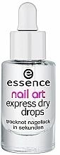 Fragrances, Perfumes, Cosmetics Express Dry Drops - Essence Circus Circus Nail Art Express Dry Drops