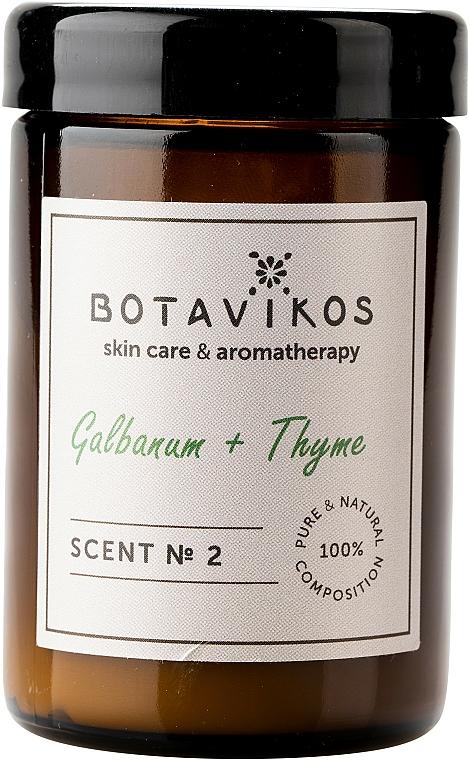 Botavikos Galbanum&Thyme - Scented Candle — photo N2