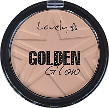 Fragrances, Perfumes, Cosmetics Face Powder - Lovely Golden Glow Powder